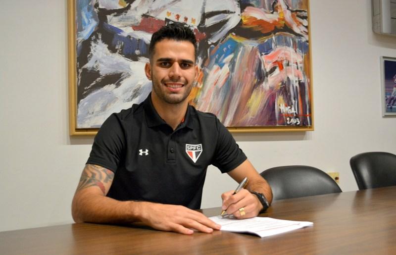 Luiz Eduardo assina com o Tricolor até o final da temporada