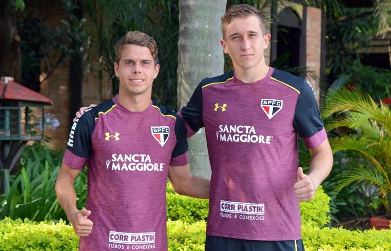 São Paulo: Araruna e Thiago, mais caras novas do CFA no principal
