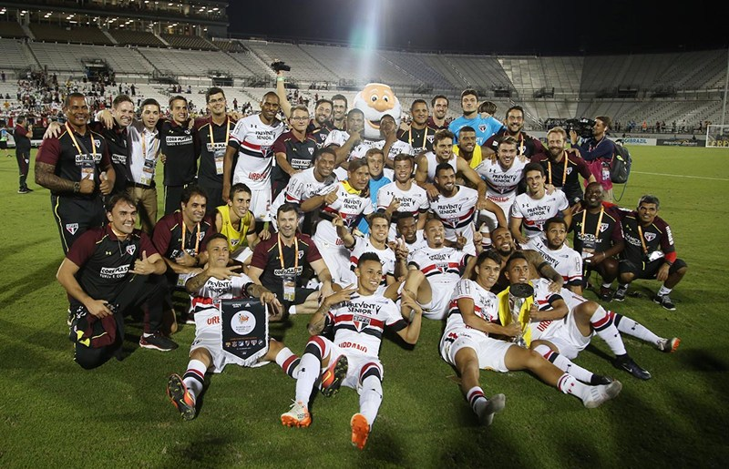São Paulo: De volta ao Brasil, atletas exaltam união do grupo