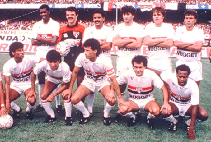 A Conquista Do Campeonato Brasileiro De 1986 Spfc