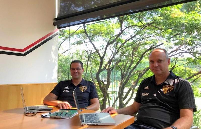 São Paulo: No CT, Jardine e Forner dão sequência aos preparativos para 2019