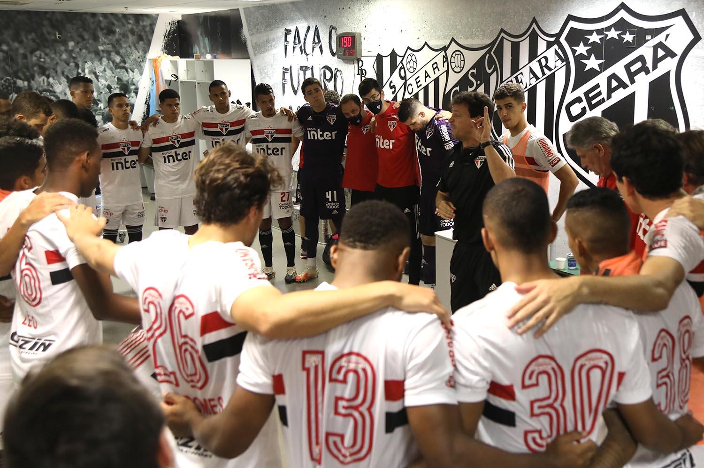 SPFCtv: bastidores de Fortaleza 3 x 3 São Paulo