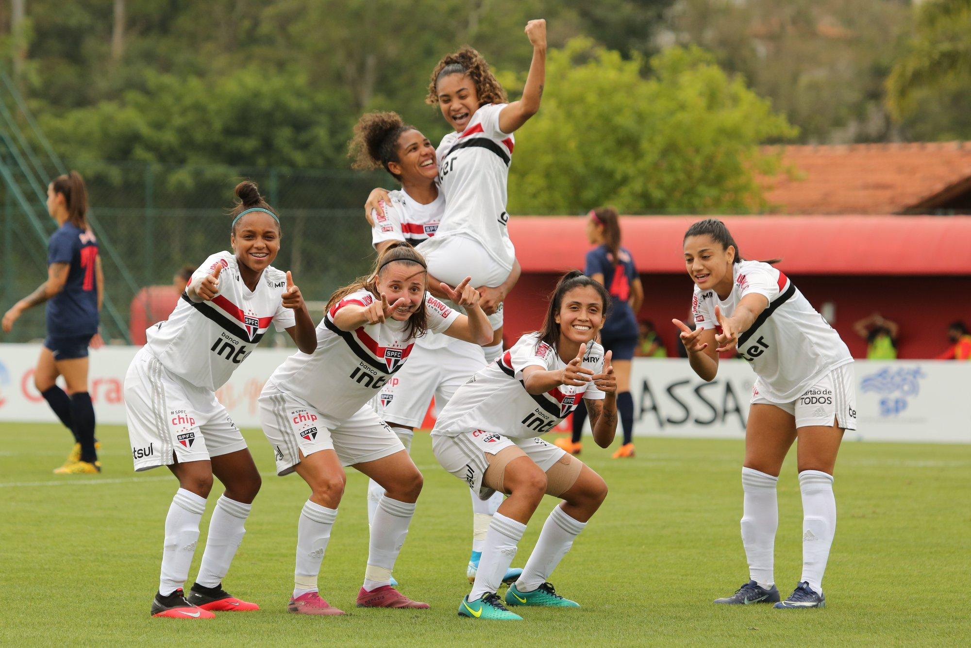 Tricolor estreia com vitória no Paulistão Feminino