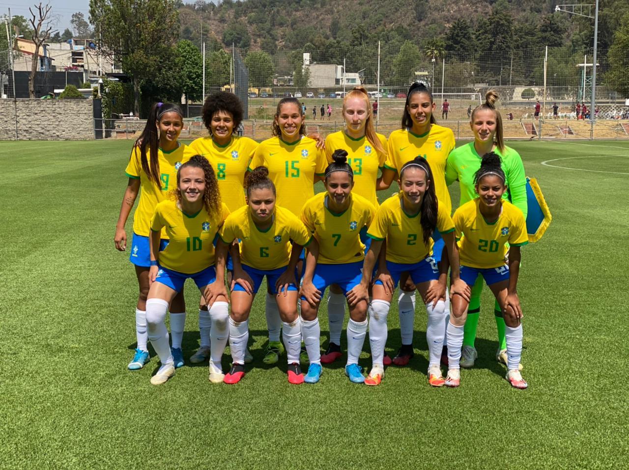 Com são-paulinas em campo, seleção sub-20 vence jogo preparatório