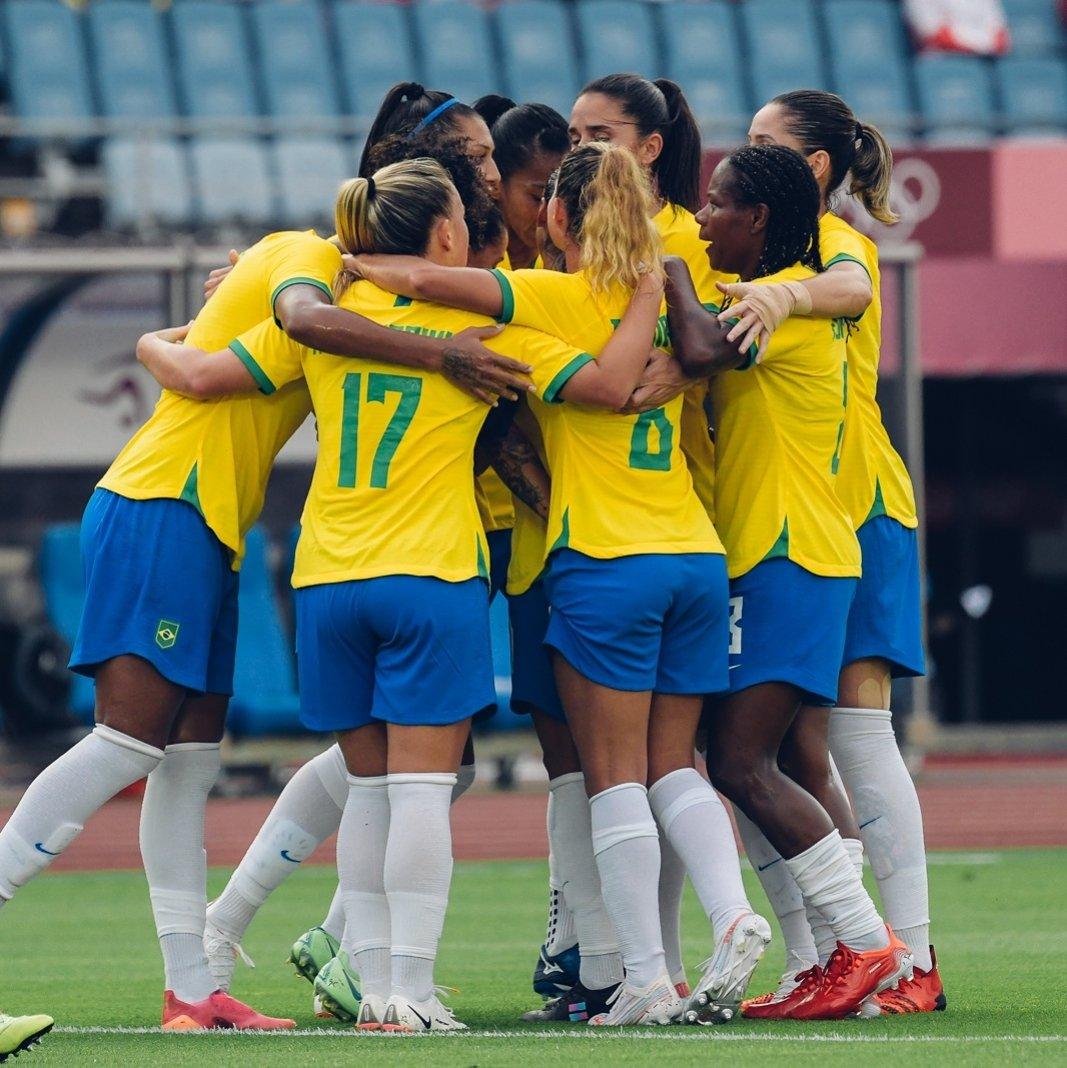 Com Duda e Formiga, seleção feminina vence na estreia dos Jogos Olímpicos