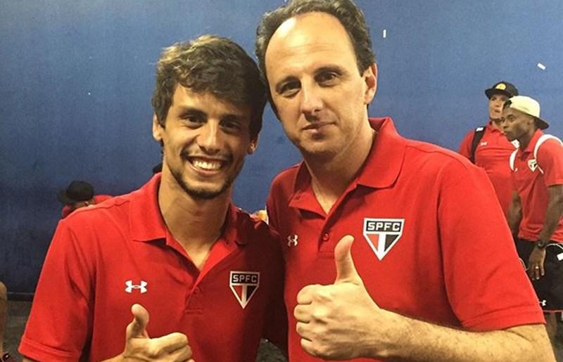 Rogério Ceni pede a permanência de Rodrigo Caio para 2017