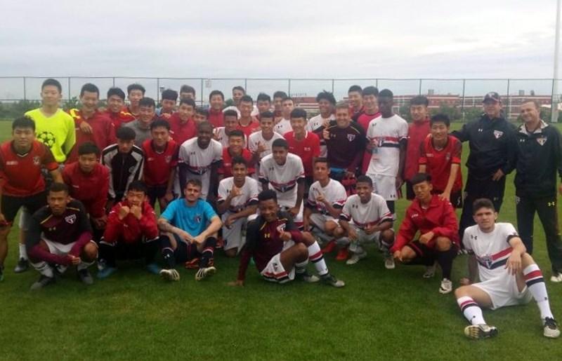 Depois de 30 a 0, 29 a 0 para o Sub-19 do Tricolor na Future Cup