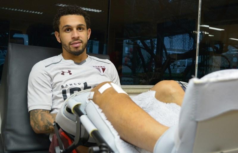 São Paulo: Wellington Nem avança para recuperação no REFFIS