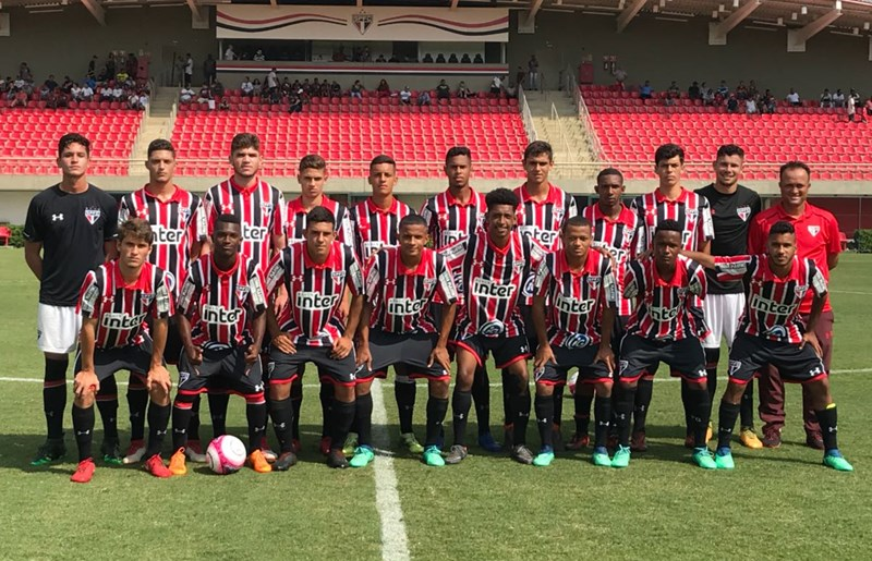 Sub-17 faz 12 gols em vitória pelo Paulista  Sub-15 também goleia - SPFC 3c182aafb8488