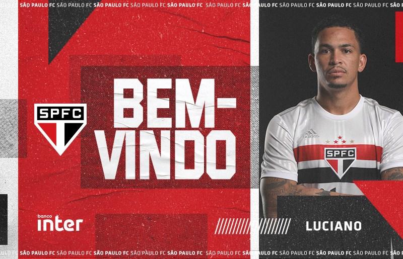 Sao Paulo Contrata O Atacante Luciano Spfc