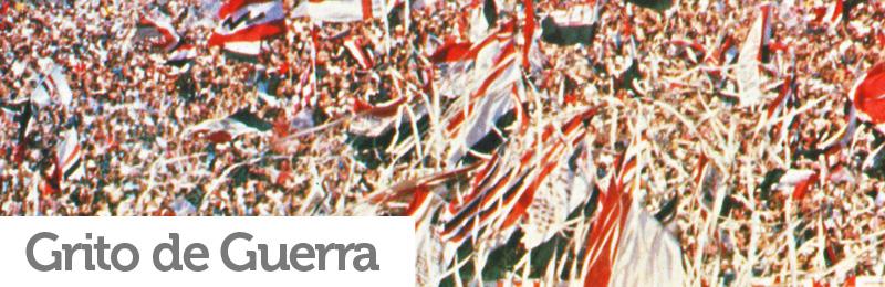 eef3e1f8a93f7 O São Paulo também possui um 'grito de guerra' considerado oficial. Foi  muitas vezes cantado após a locução da escalação da equipe antes de jogos  no ...